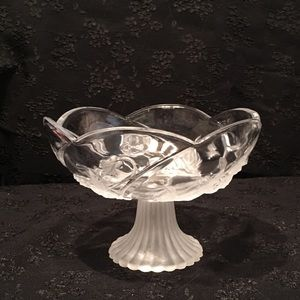 Soga Japan Crystal Scalloped Fruit Bowl